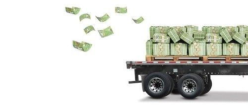 Truck of money